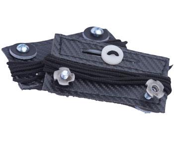 Fix my gear Goalie Toe Bridges schwarz
